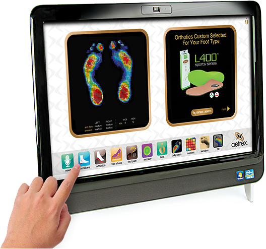 iStep Custom orthotics foot bed scanner